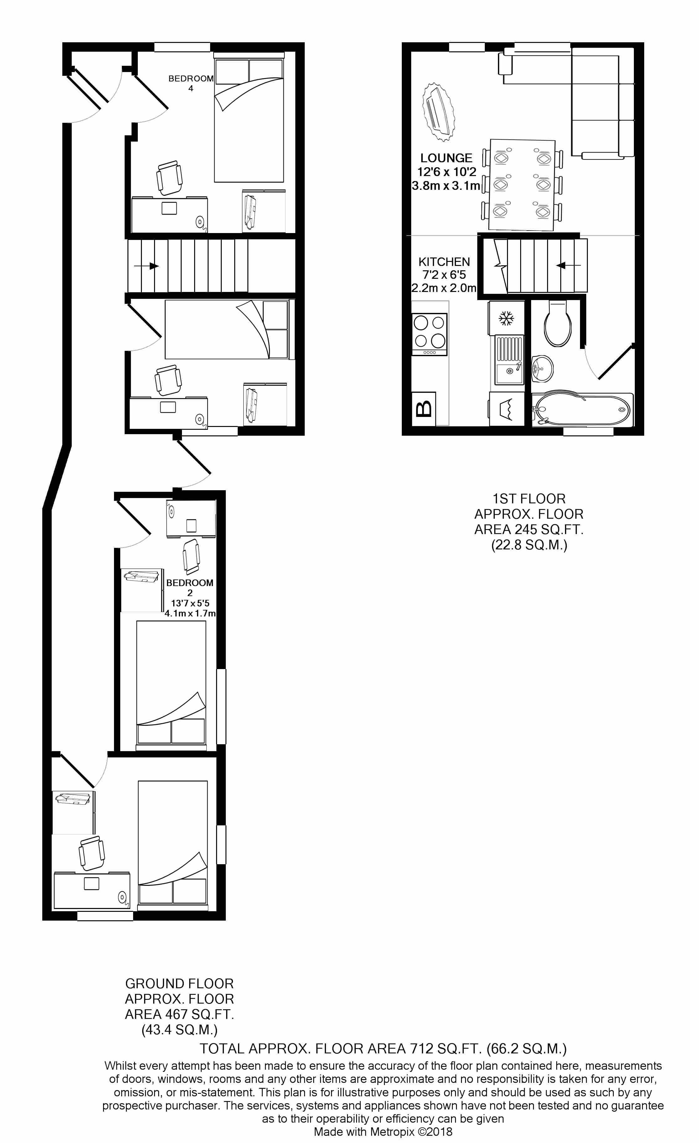 16 Queen Anne Street -floorplans