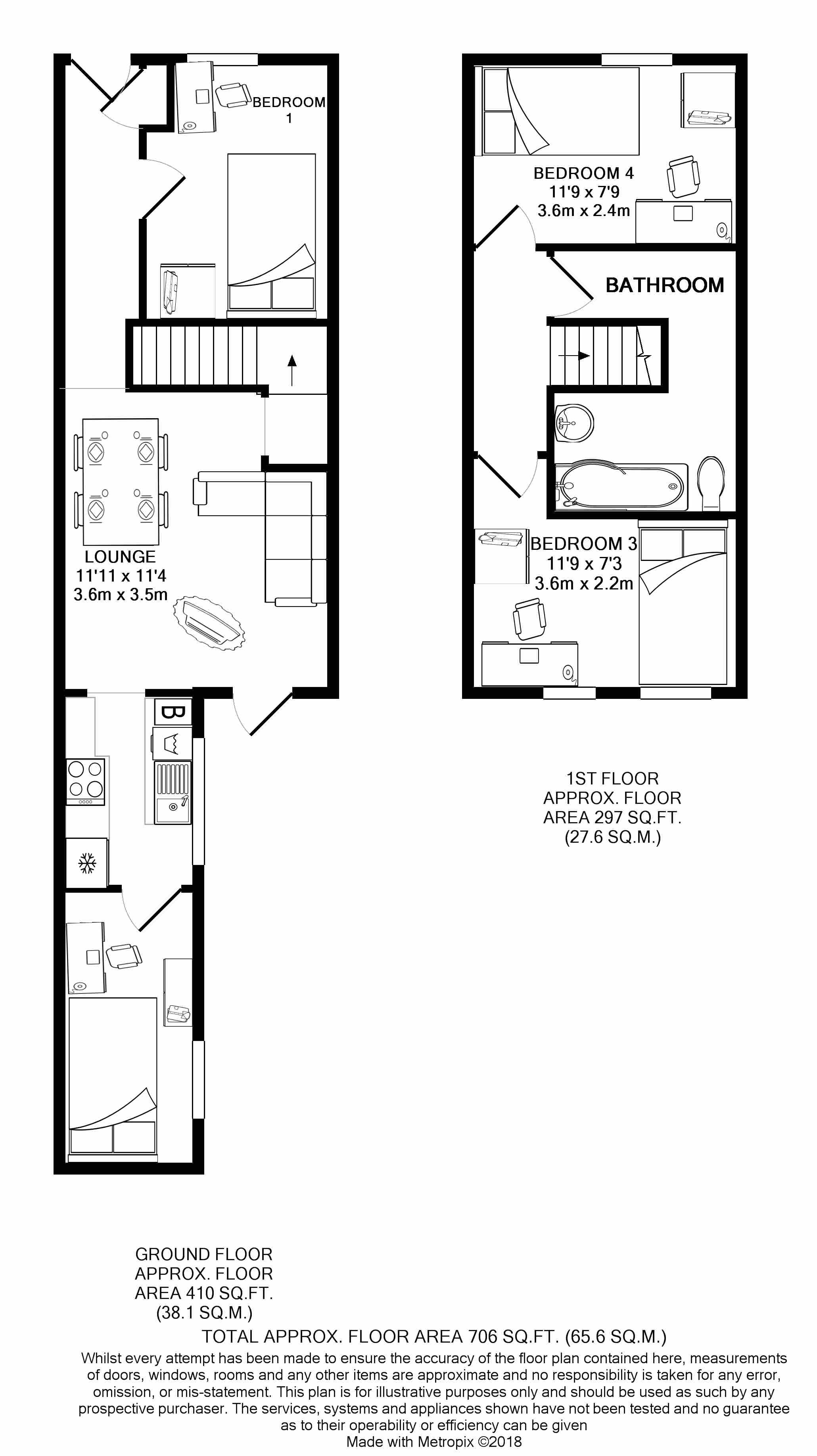 28 Seaford Street - floorplans