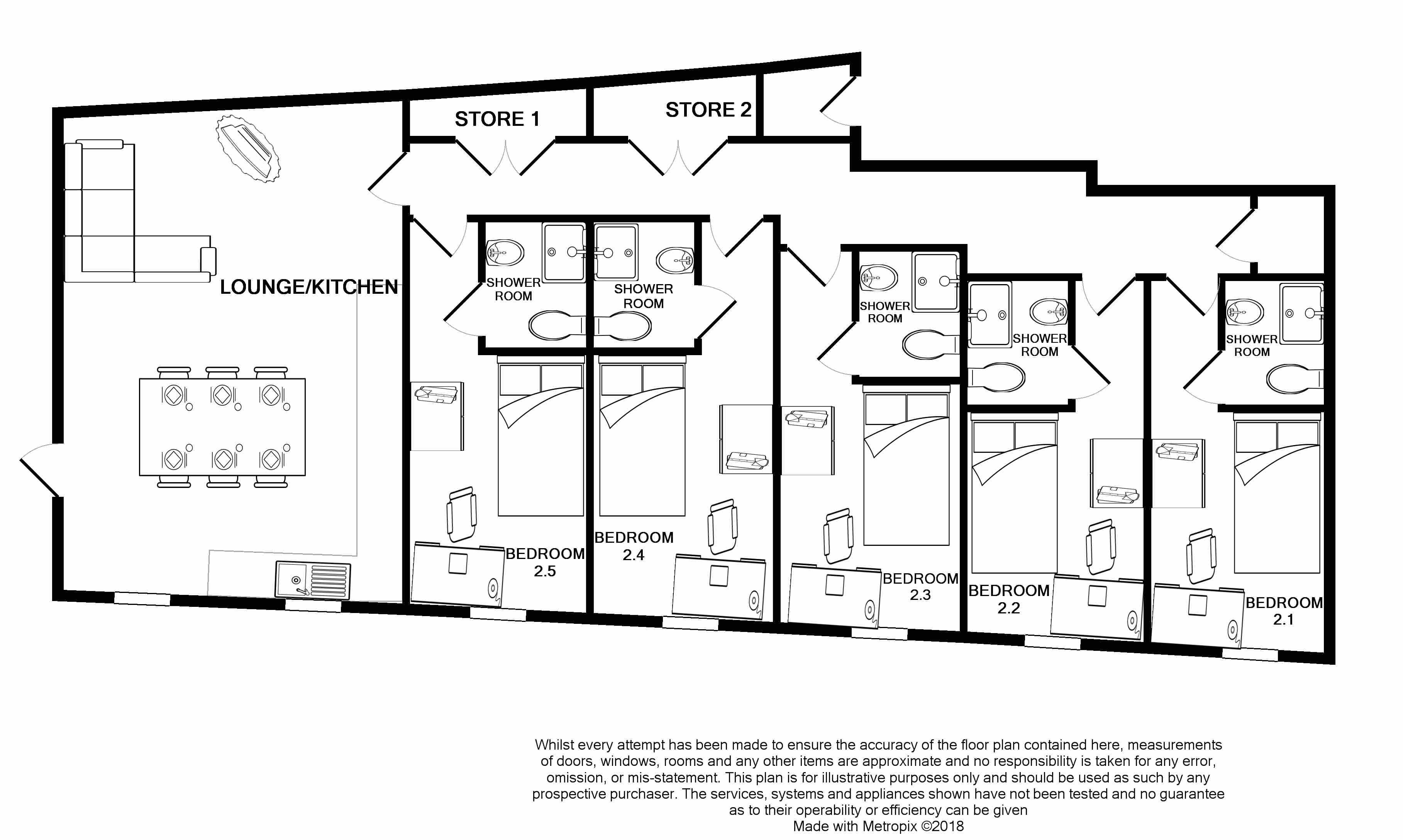 2 Sharperton House - floorplans