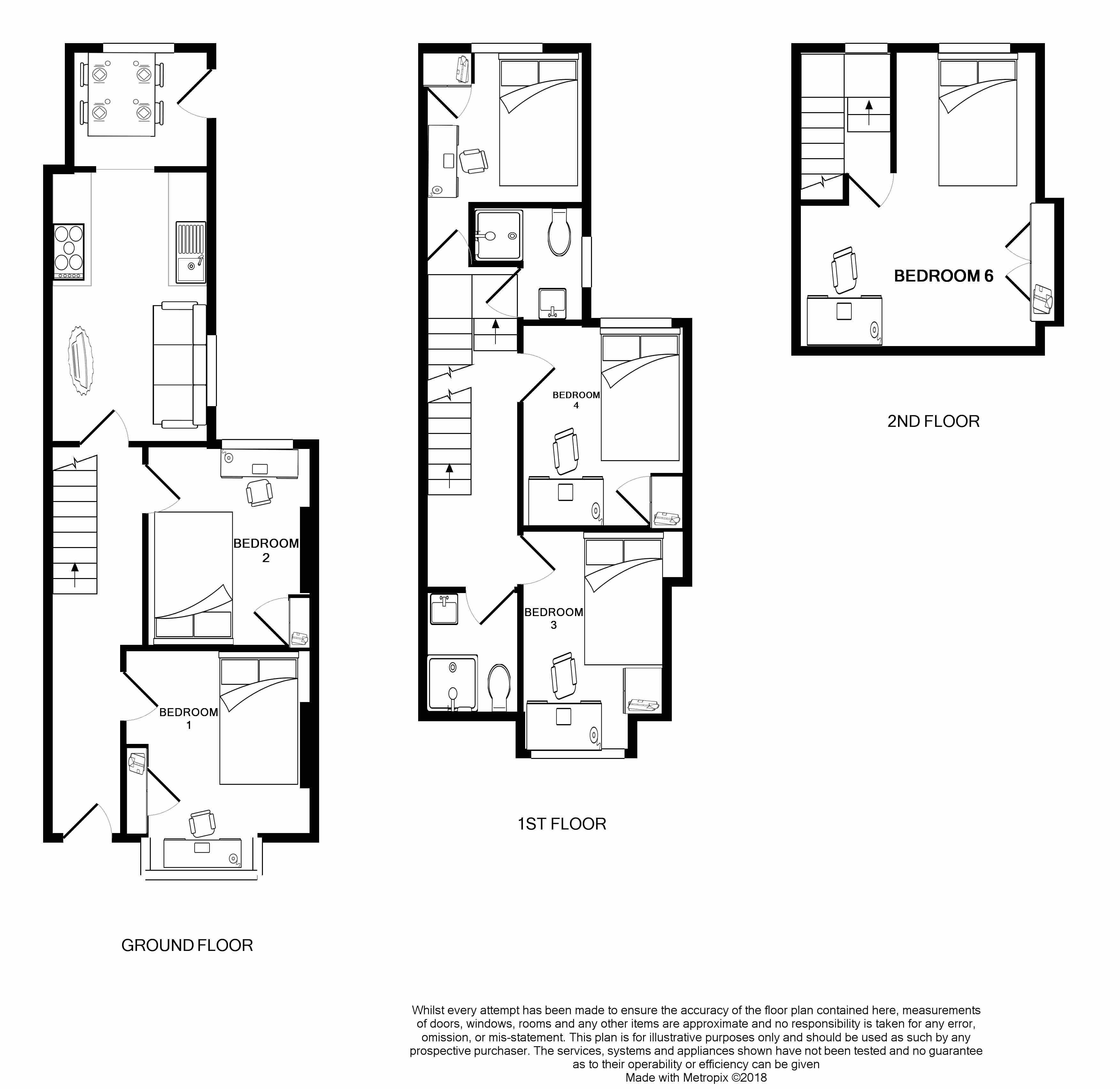 3 Edgerton park road -floorplans
