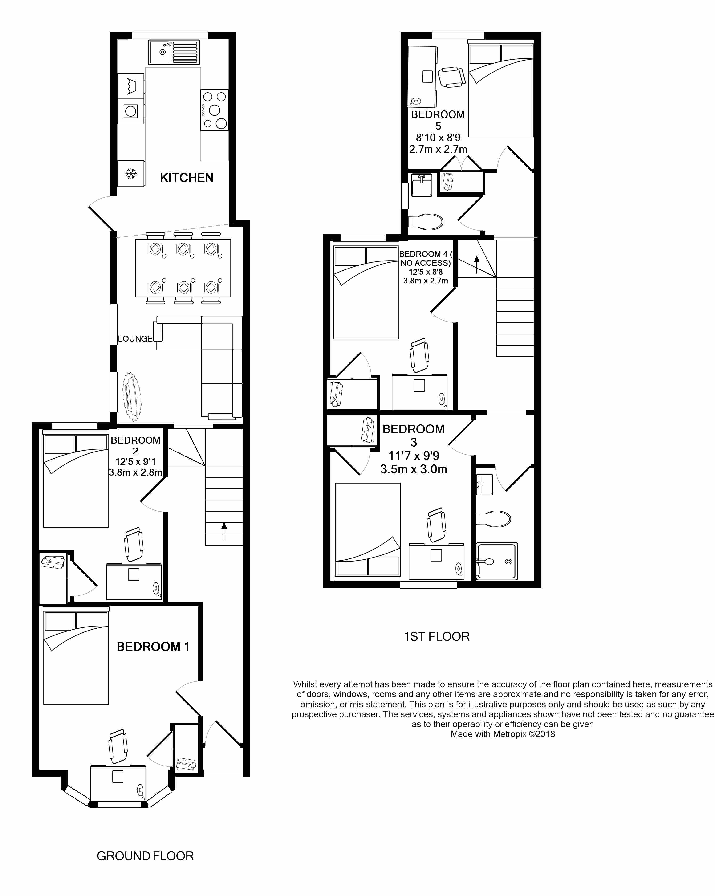 42 Hudson Road - floorplans