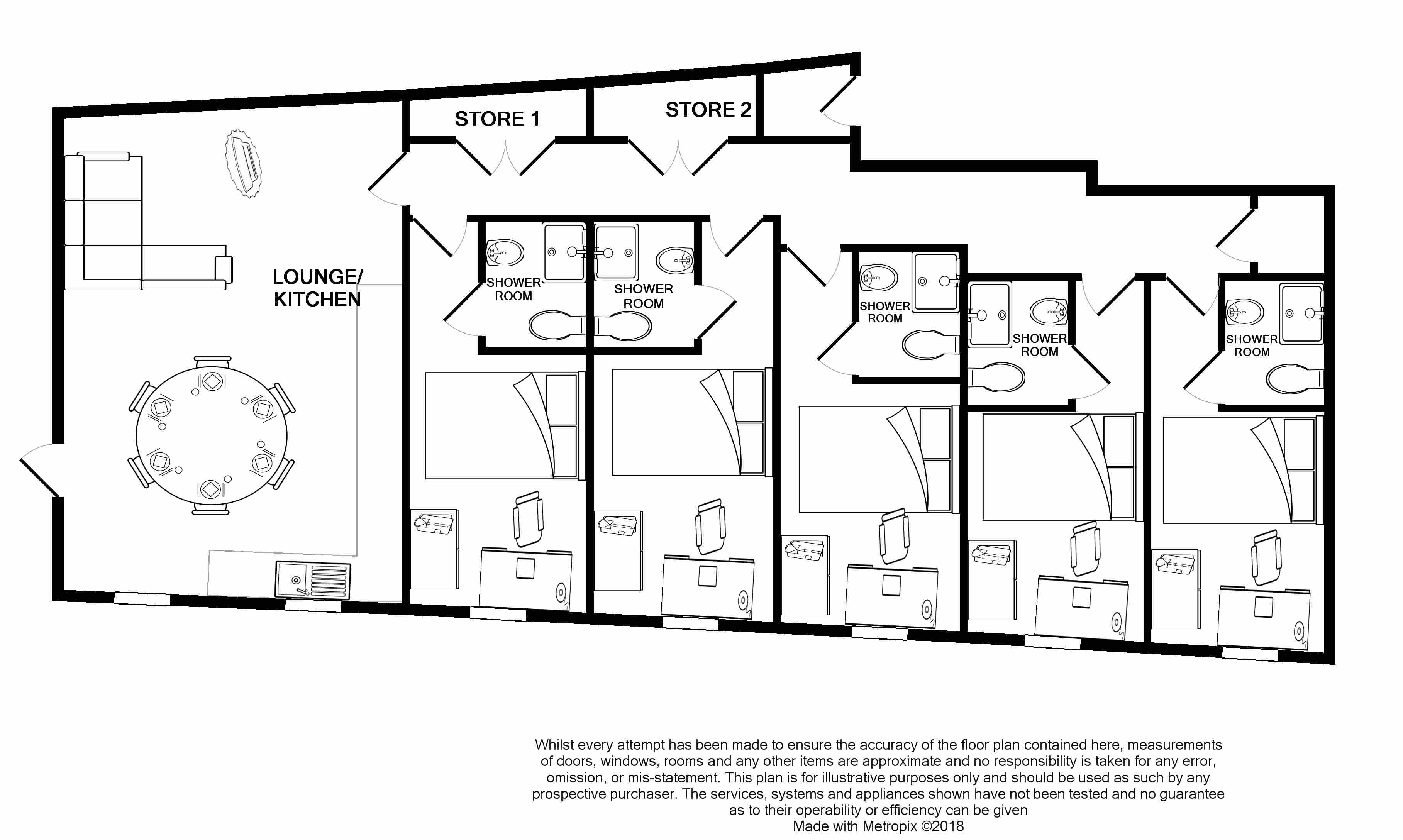 6 Sharperton House -floorplans