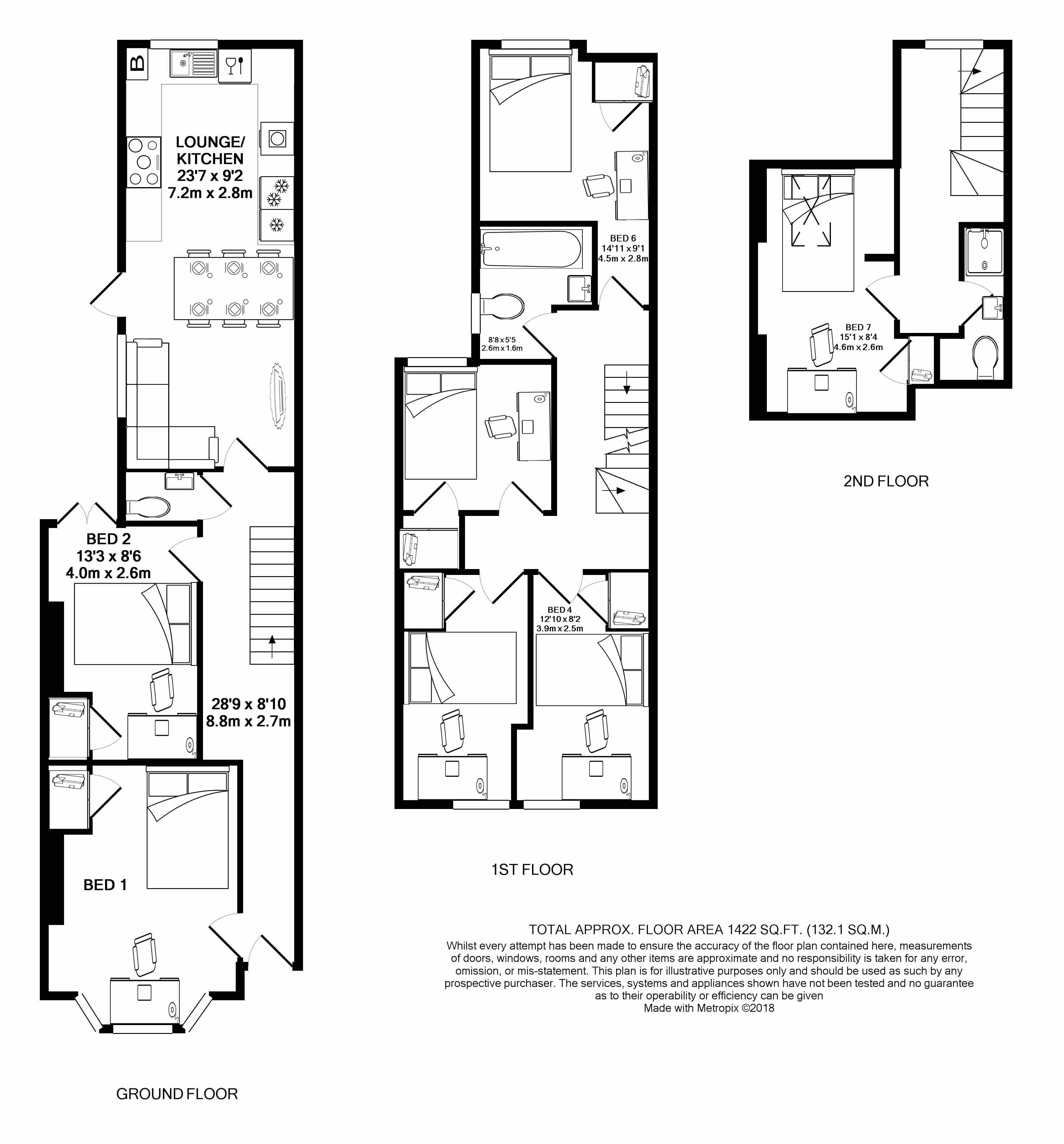 78 Manners Road -floorplans