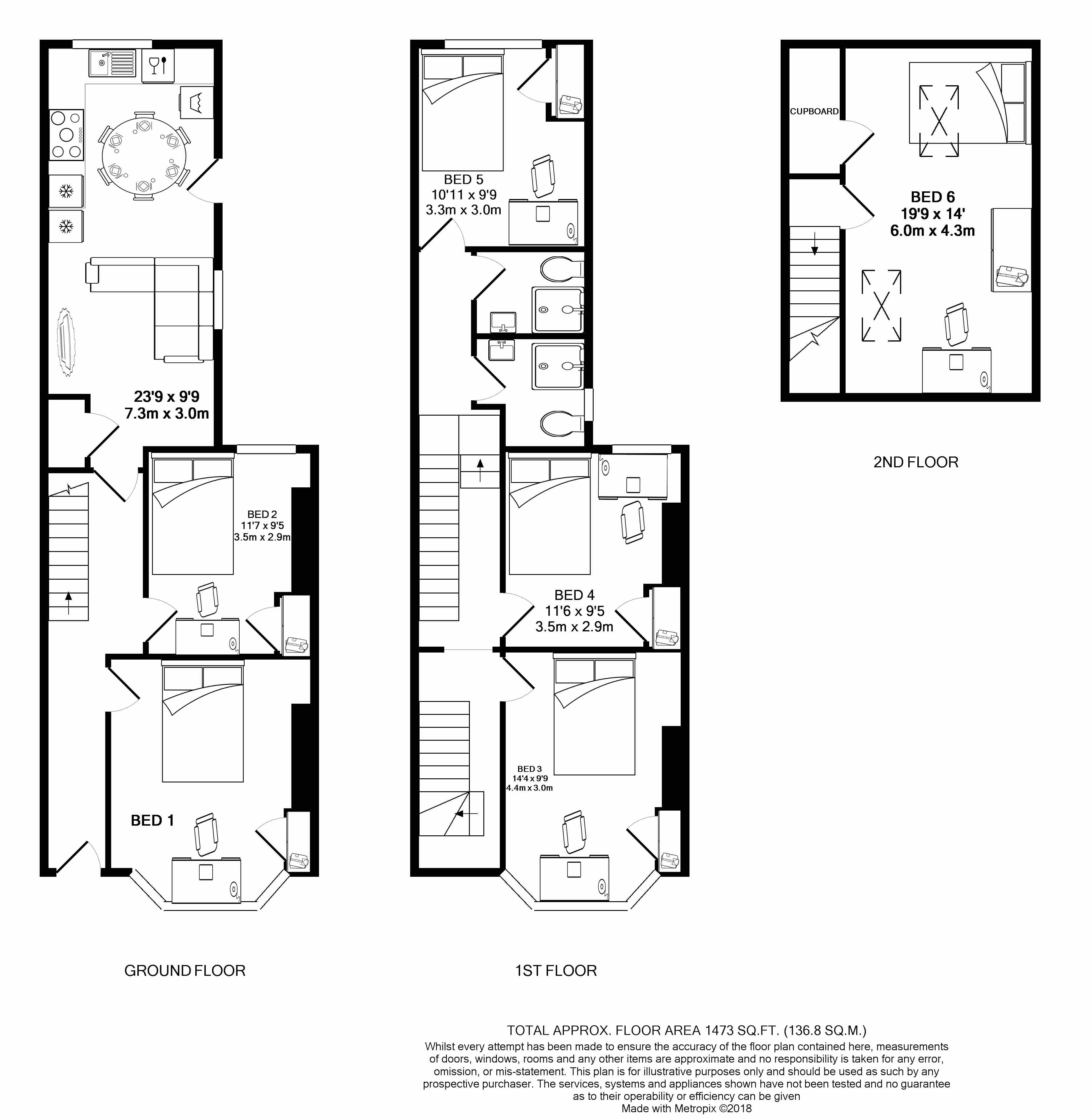 88 Monks Road - floorplans
