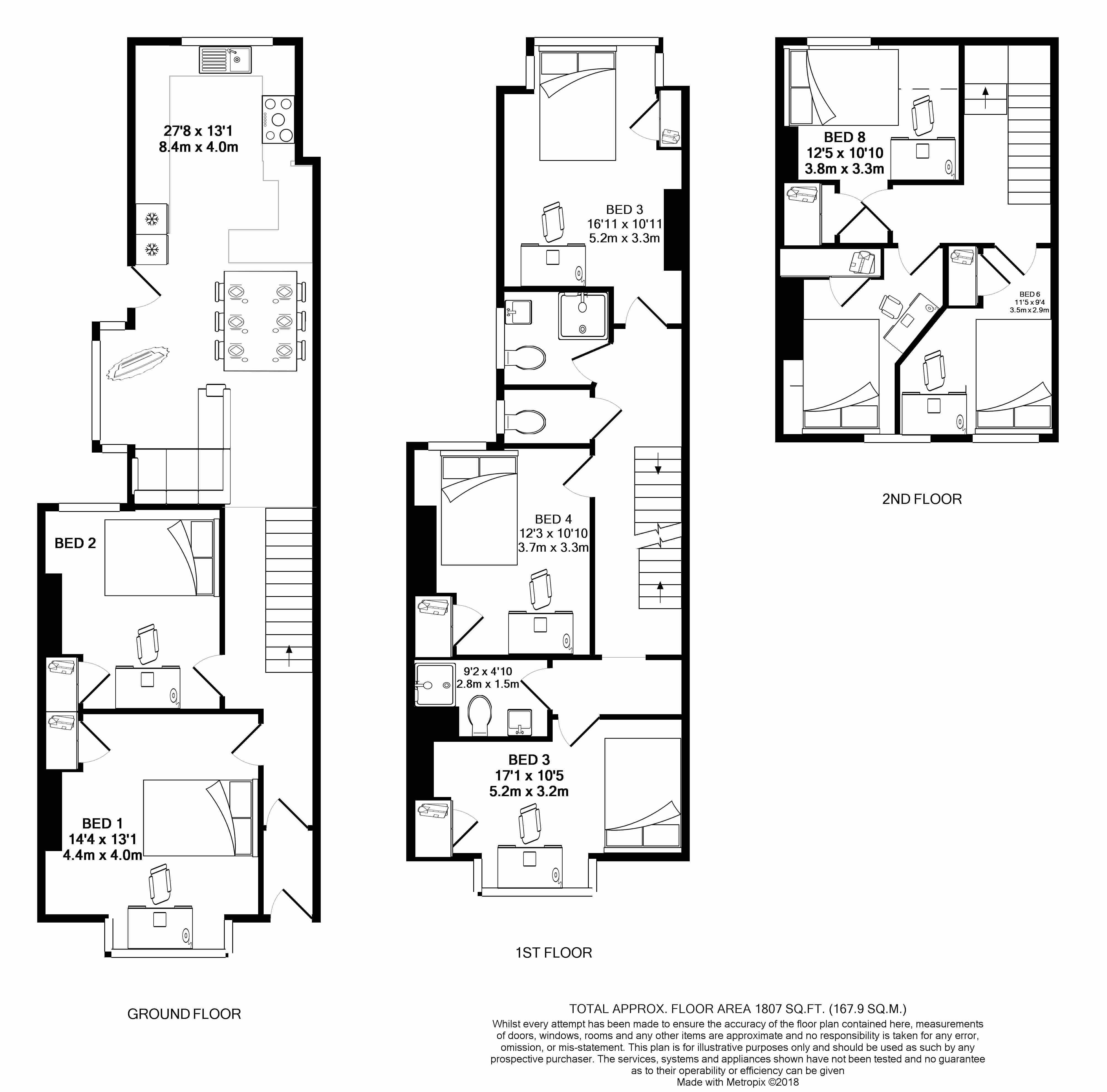 68 Monks Road - floorplans