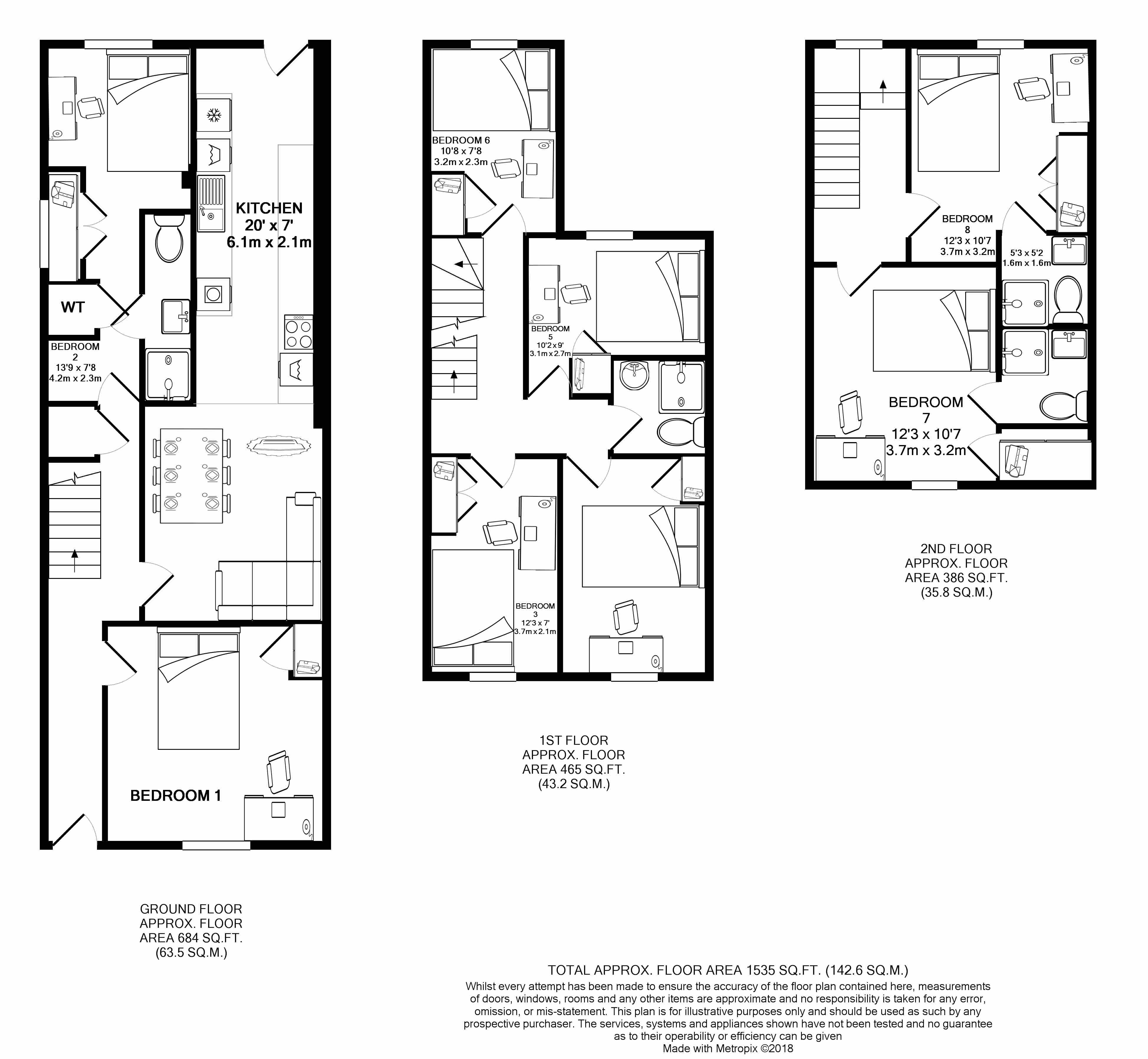 39 Springfield Road - floorplans