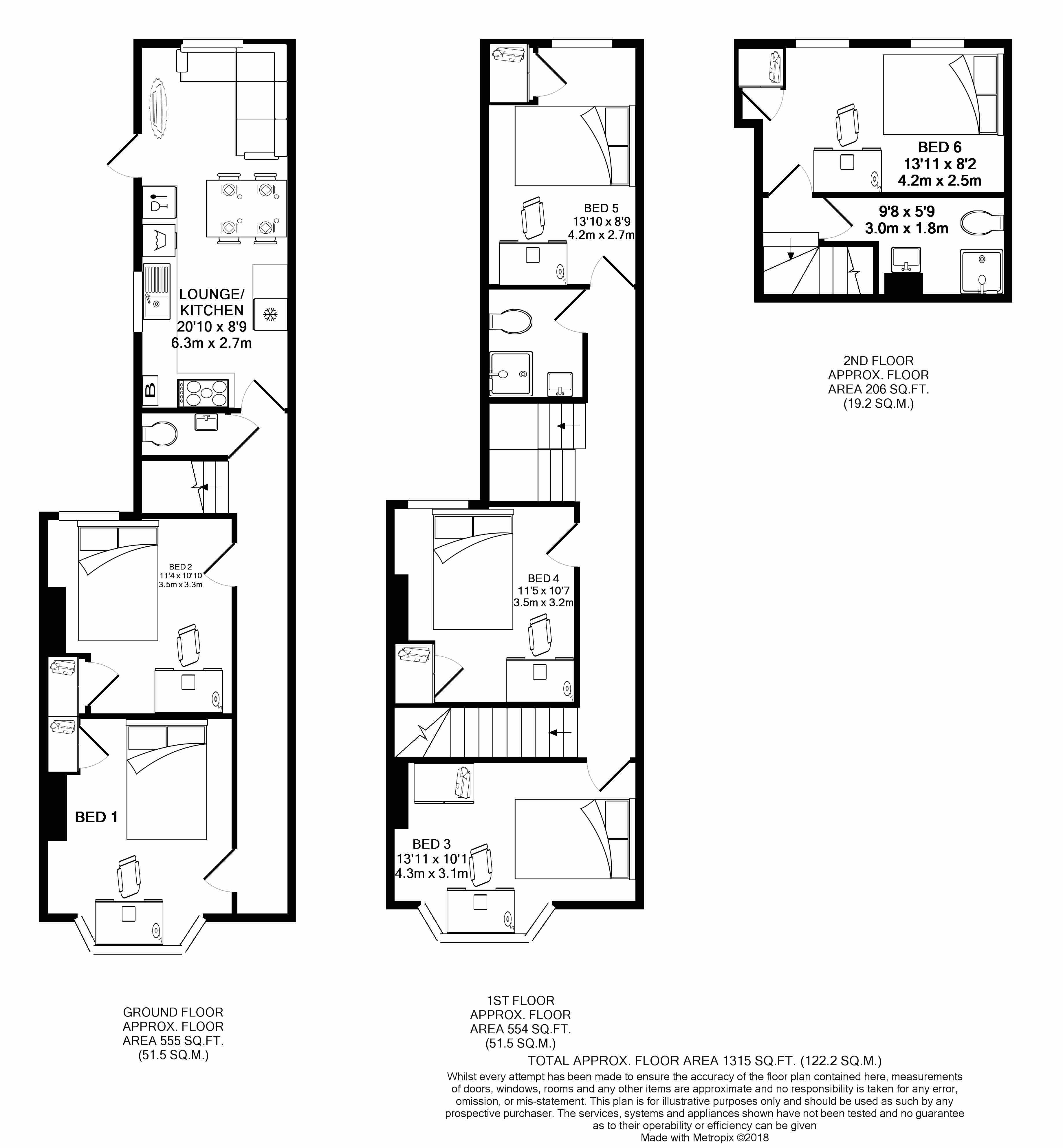 All floors plan