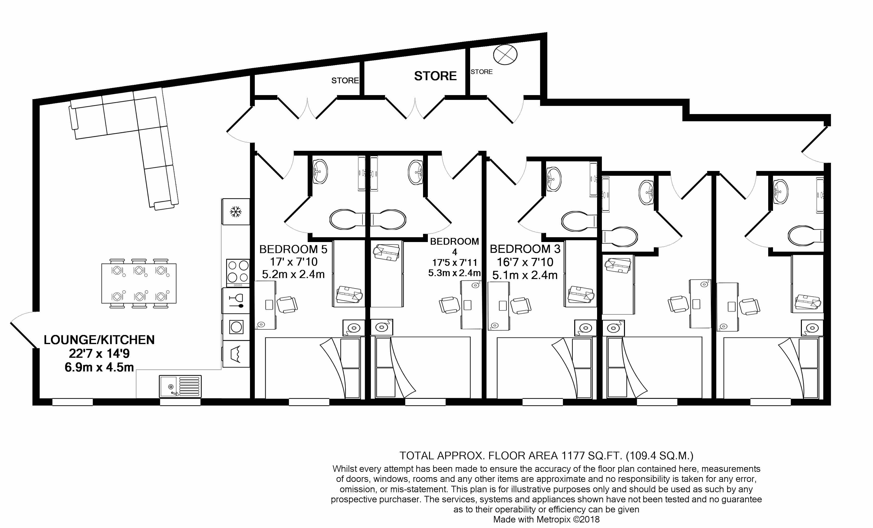 Flat 1 Floorplan