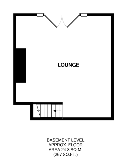 Basement Level Floorplan