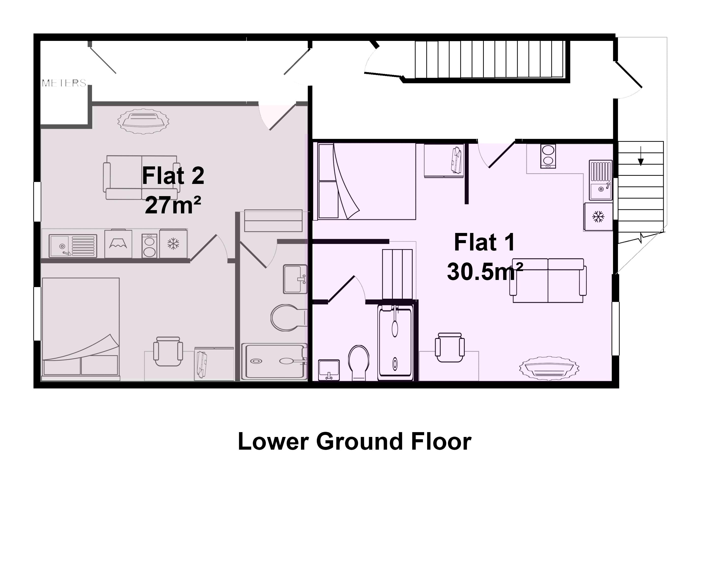 Flat 2, 1 Rodney Street